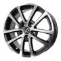 Replica VW531 - Общие характеристики  Тип : литые Материал :   алюминиевый сплав Цвет : серебристый  серебристый+черный