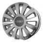 Replica 324 AU/VW - Общие характеристики  Тип : литые Материал : алюминиевый сплав Цвет : серебристый+черный