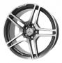 Replica MB56 - Общие характеристики  Тип : литые Материал : алюминиевый сплав Цвет : серебристый  серебристый+черный