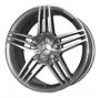 Replica 132 Mercedes - Общие характеристики  Тип : литые Материал : алюминиевый сплав Цвет : серебристый+черный