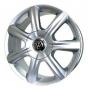 Replica VW16 - Общие характеристики  Тип : литые Материал : алюминиевый сплав Цвет : серебристый