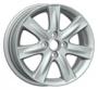 Replica TY51 5.5x15/4x100 ET45 -  Тип : литые Цвет : серебристый Крепежные отверстия : 4 Диаметр центрального отверстия : 54.1 мм