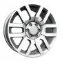Replica NS17 - Общие характеристики  Тип : литые Материал : алюминиевый сплав Цвет : серебристый
