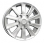 Replica TY43 - Общие характеристики  Тип : литые Материал : алюминиевый сплав Цвет : серебристый  хром