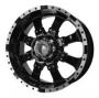 Replica 8008 - Общие характеристики  Тип : литые Материал : алюминиевый сплав Цвет : серебристый+черный  хром