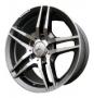 Replica 197 - Общие характеристики  Тип : литые Материал : алюминиевый сплав Цвет : серебристый+черный