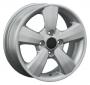 Replica KI18 5.5x14/4x100 D56.1 ET45 -  Тип : литые Цвет : серебристый Крепежные отверстия : 4 Диаметр центрального отверстия : 56.1 мм