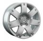 Replica VW3 - Общие характеристики  Тип : литые Материал : алюминиевый сплав Цвет : серебристый  черный