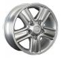 Replica LX9 - Общие характеристики  Тип : литые Материал :   алюминиевый сплав Цвет : серебристый