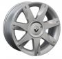 Replica RN7 6.5x16/4x100 D60.1 ET49 серебро -  Тип : литые Цвет : серебристый Крепежные отверстия : 4 Диаметр центрального отверстия : 60.1 мм