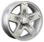 Replica SZ2 6x16/5x114.3 d60.1 ET50 -  Тип : литые Цвет : серебристый Крепежные отверстия : 5 Диаметр центрального отверстия : 60.1 мм